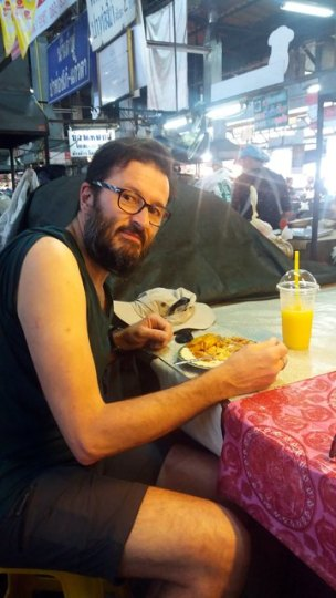 Premier déjeuner de midi à Chiang Mai