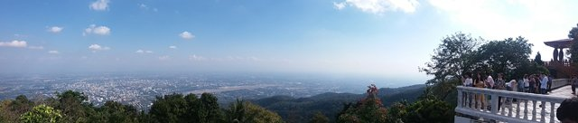 belle vue depuis Doi Suthep