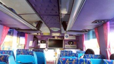 notre bus de Chiang Mai à Sukhothaï