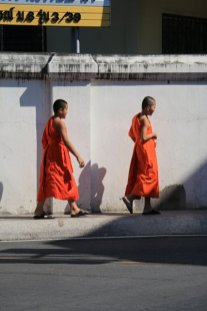 moines à Lamphun