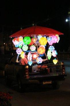 Sukhothaï de nuit