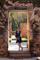 Laura à Sukhothaï old city