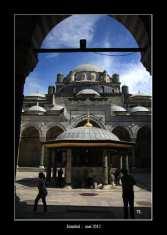 une mosquée à Istanbul