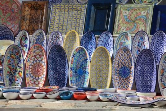 faïence à Sidi Bou Saïd