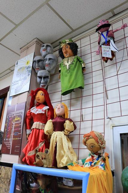 Le hall d'entrée du Centre National des Arts de la Marionnette