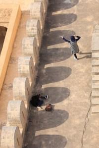 jeunes starlettes dans le Ribat dans la médina de Sousse