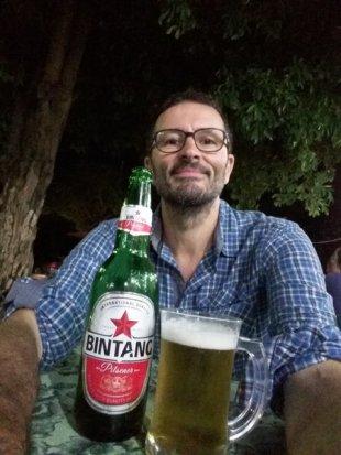 première bière locale
