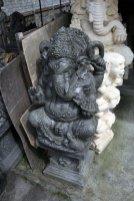 sculpture sur pierre à Mas près d'Ubud