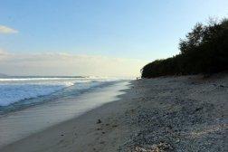 la plage à Gili Meno