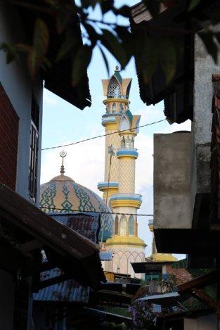 au loin la grande mosquée