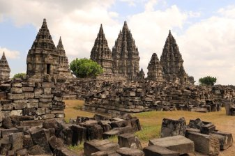 site de Prambanan (Java ~ Indonésie 2017)