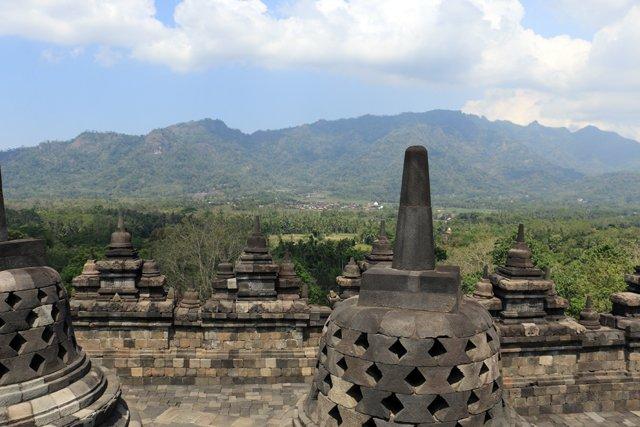 Site de Borobudur près de Yogyakarta