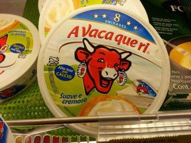 A vaca que ri (la célébré vache qui rit, rit aussi au Brésil)