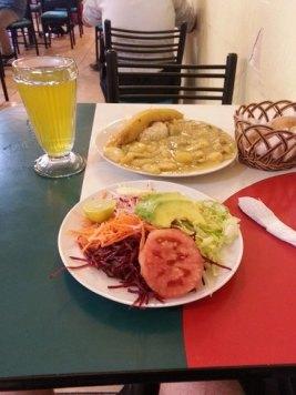Dîner au palais du végétarien pour moins de 2 € (Pérou)