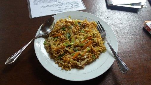 Mie Goreng, nouilles de riz (Indonésie)