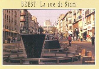 Carte postale de Brest