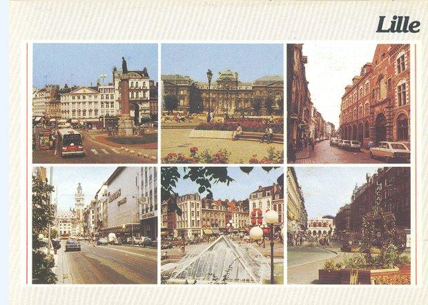 Carte postale de Lille