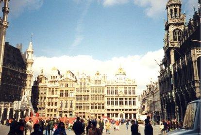 Grand Place à Bruxelles (RDV n°5 - Mes voyages avant...Internet...suite et fin)