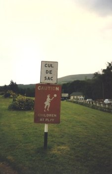 dans la campagne irlandaise (RDV n°5 - Mes voyages avant...Internet...suite et fin)