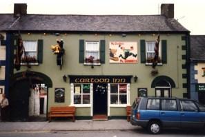 Le Cartoon Inn à Wicklow (RDV n°5 - Mes voyages avant...Internet...suite et fin)