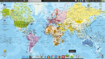 Bureau sous Ubuntu Mate