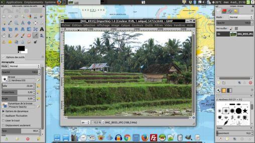 GIMP l'éditeur de photo (équivalent Photoshop)