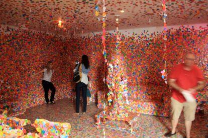 Exposition Yayoi Kusama [Centro Cultural Banco do Brasil