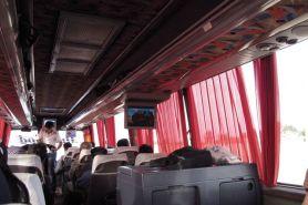 dans le bus Shiraz -> Yazd - l'autre ailleurs en Iran, une autre idée du voyage