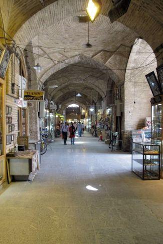 dans le bazaar à Ispahan - l'autre ailleurs en Iran, une autre idée du voyage