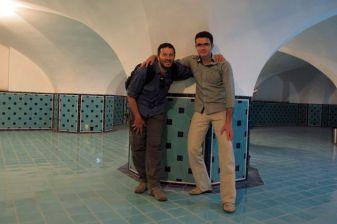 visite d'une mosquée avec Shahram