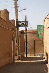 mon hôtel à Yazd, le Traditional Kohan Hotel, dans la vieille ville - l'autre ailleurs en Iran, une autre idée du voyage
