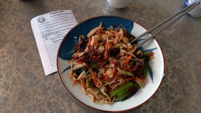 Déjeuner végétarien - L'autre ailleurs au Cambodge