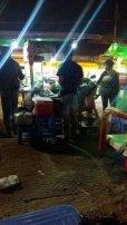 street food, où j'ai pris mon habitude à Siem Reap près du vieux marché - L'autre ailleurs au Cambodge