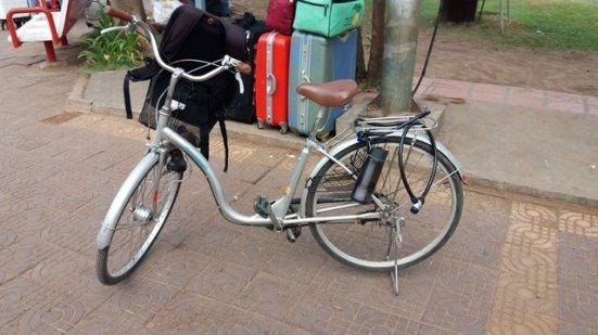 mon vélo pour la journée à Siem Reap - L'autre ailleurs au Cambodge