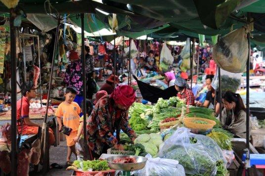 le vieux marché - L'autre ailleurs au Cambodge