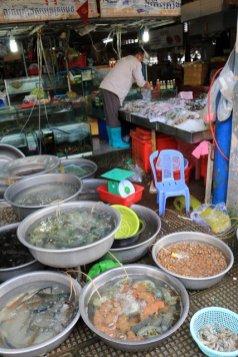 le marché central de Phnon Penh - L'autre ailleurs au Cambodge