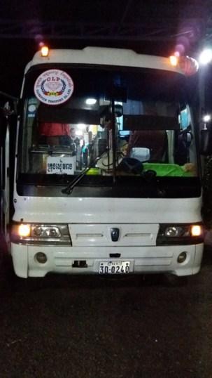mon bus de nuit Siem Reap -> Kampot