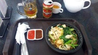 Pad Thaï aux fruits de mer