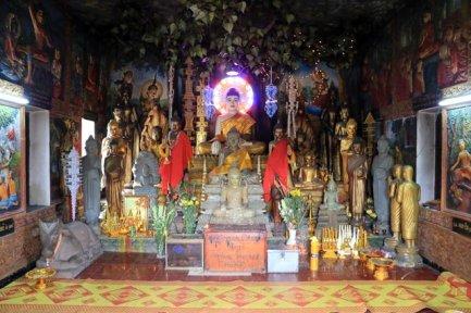 Wat Sampov Pram dans le parc national de Bokor près de Kampot