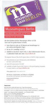 Le pass 29€ pour visiter bon nombre de musée à Berlin (http://www.autre-ailleurs.fr)