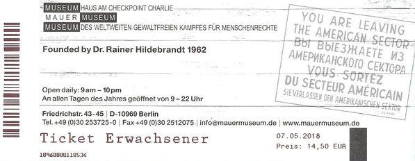 Ticket Musée du mur (http://www.autre-ailleurs.fr)