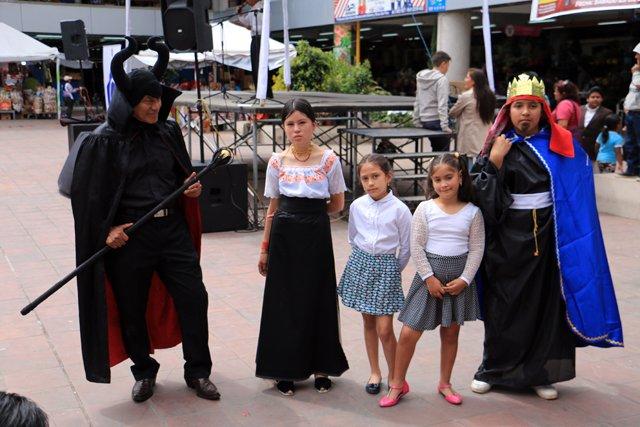 Le diable, Eva et ses amis du théâtre - l'autre ailleurs, une autre idée du voyage