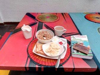 petit déjeuner - Iku Hostel Backpackers à Bogotá