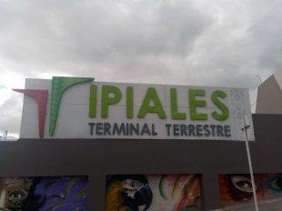 terminal de bus d'Ipiales - l'autre ailleurs en Colombie, une autre idée du voyage