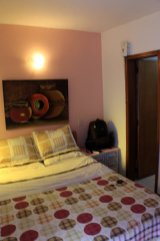 ma chambre dans l'hôtel (Tadaima Hostel Bogota) à Bogotá - l'autre ailleurs en Colombie, une autre idée du voyage