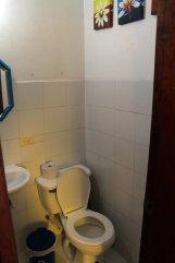 wc de ma chambre dans l'hôtel (Tadaima Hostel Bogota) à Bogotá - l'autre ailleurs en Colombie, une autre idée du voyage