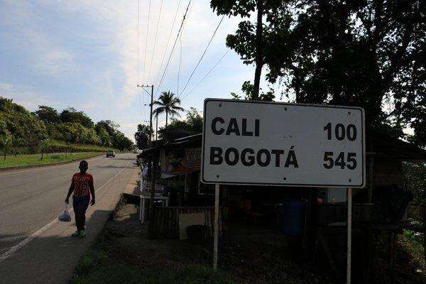 San Cipriano, à pile-poil 100 Km de Cali en Colombie - l'autre ailleurs en Colombie, une autre idée du voyage
