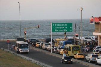 la mer à Carthagène des Indes - l'autre ailleurs en Colombie, une autre idée du voyage