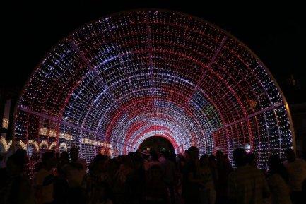 illuminations de Noël à Carthagène des Indes - l'autre ailleurs en Colombie, une autre idée du voyage