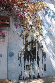 joli graffiti à Carthagène des Indes - l'autre ailleurs en Colombie, une autre idée du voyage